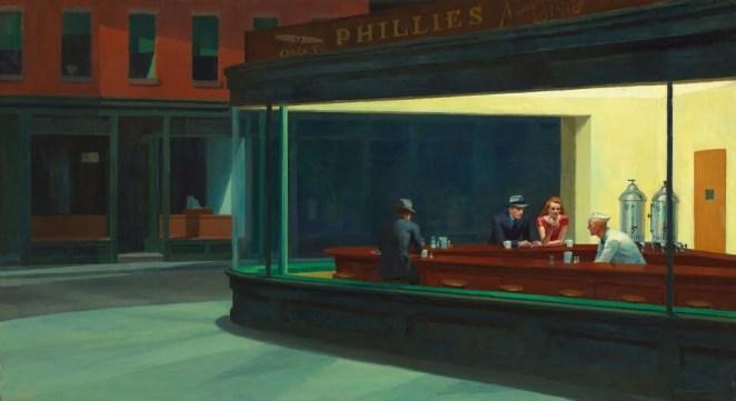 'Nighthawks' by Edward Hopper