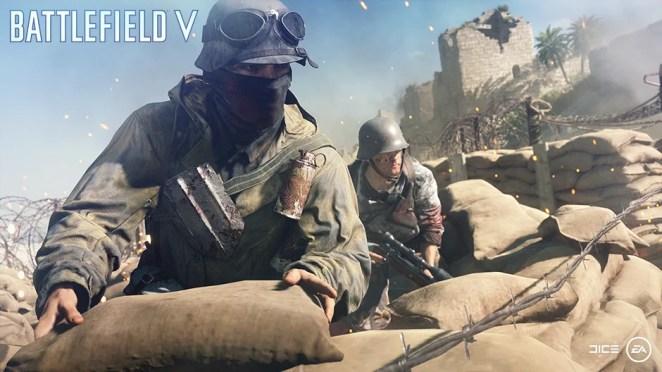 Battlefield V Combat Roles Hero Image