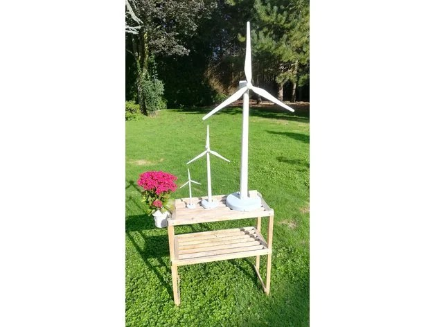 photo about 3d Printable Wind Turbine known as Weekend Challenge: 3D Print Your Private Wind Turbine Design and style