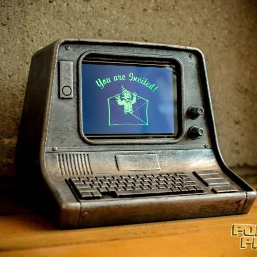 Fallout 4 terminal 3d-printable raspberry pi case
