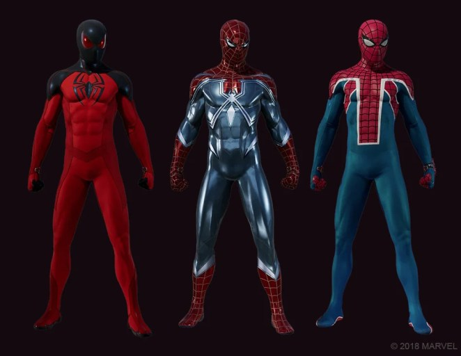 New Spider-Man suits