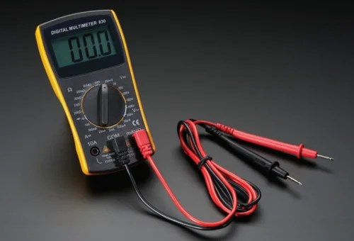 An image of a multimeter