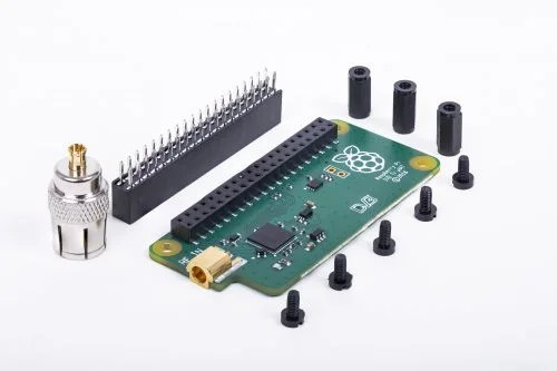 A photograph of a Raspberry Pi TV HAT Oct 2018