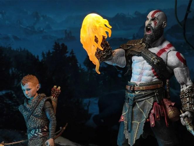 Kratos and Atreus Neca Action Figure