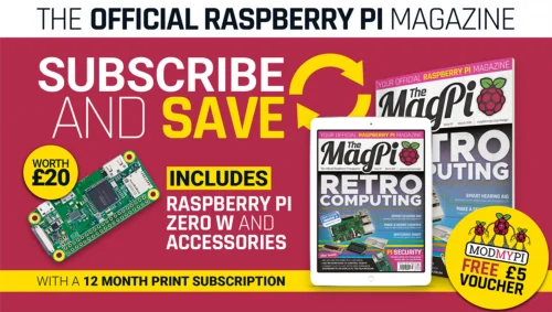 The MagPi subscription offer — The MagPi 75