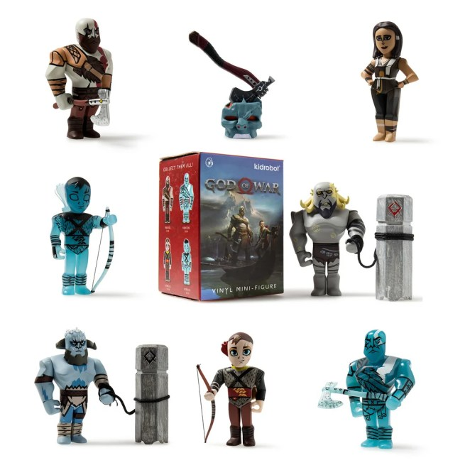 PlayStation Gear: Kid Robot Mini Series