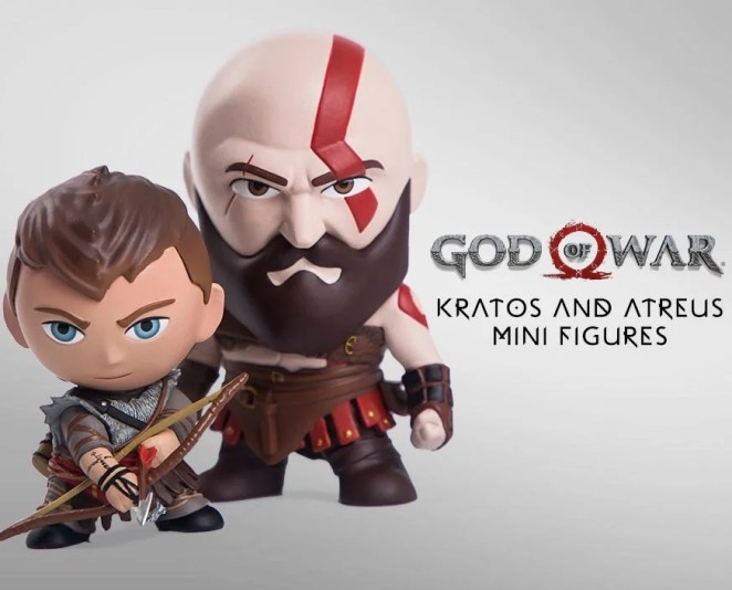 PlayStation Gear: God of War Mini Figures
