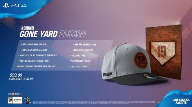 MLB The Show 19 Gone Yard Edition