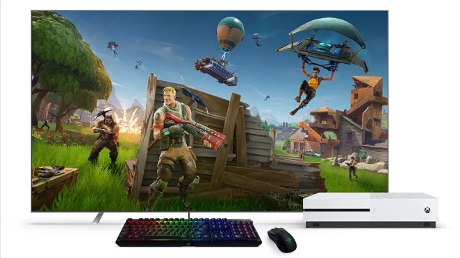 Fortnight with mouse and keyboard