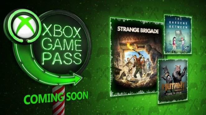 Xbox Game Pass - December 2018 Hero Image