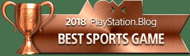 Best Sports Game - Bronze