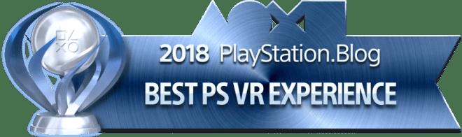 Best PS VR Experience - Platinum