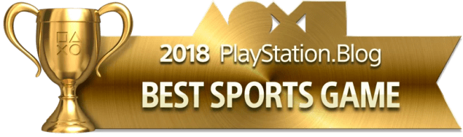 Best Sports Game - Gold