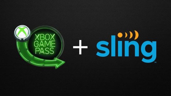 Xbox Game Pass Sling Hero Image
