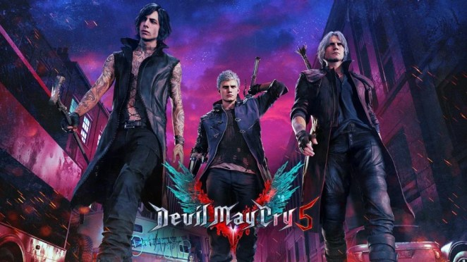 Devil May Cry 5 Hero Image