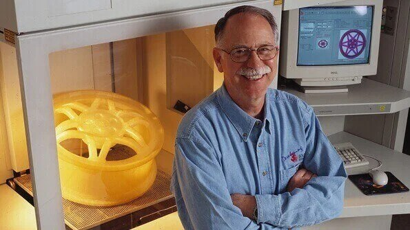 Chuck Hull, the inventor of the first 3D printer, was also behind the STL file format