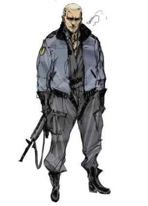 Yoji Shinkawa: Left Alive artwork