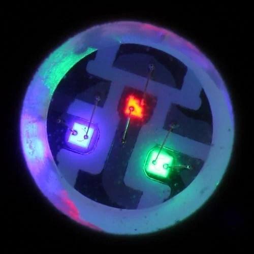 An RGB LED