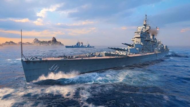World of Warships: Legends Hero Image