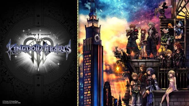 Kingdom Hearts III Hero Image