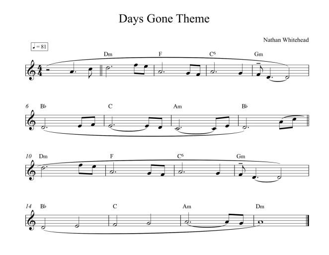Days Gone Theme