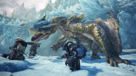 Monster Hunter World: Iceborne Beta on PS4