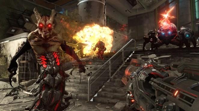 Doom Eternal on PS4