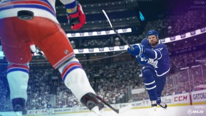 NHL 20 Hero Image