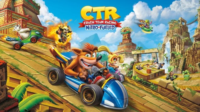 Crash Team Racing Nitro-Fueled Hero Image