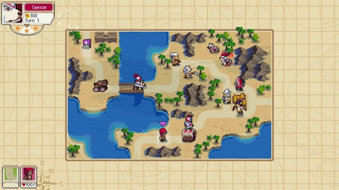 Wargroove on PS4