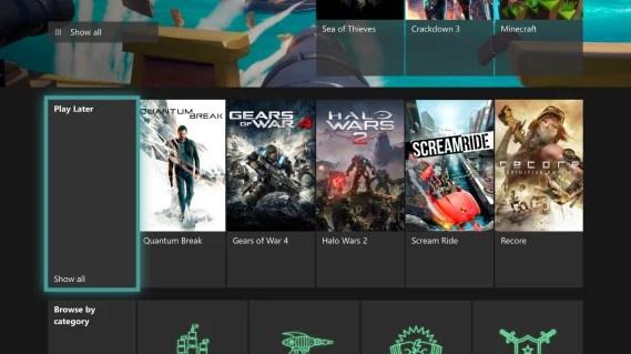 Skill und neue Funktionen im Xbox Game Pass: Play Later-Funktion