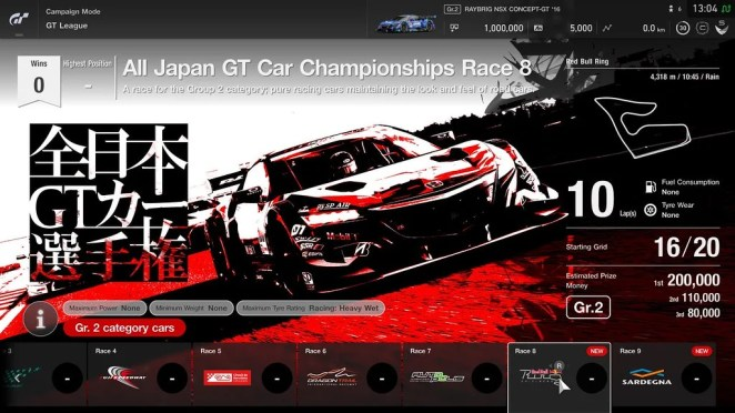 GT Sport on PS4