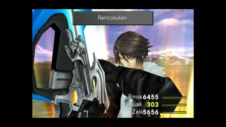 Final Fantasy VIII Remastered on PS4