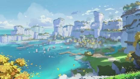 Genshin Impact on PS4