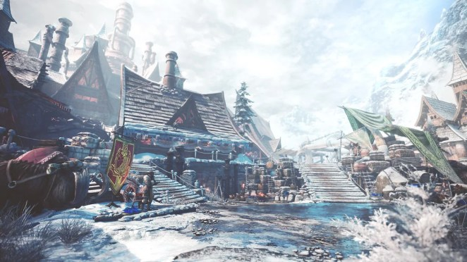 Monster Hunter World: Iceborne - Seliana Headquarters