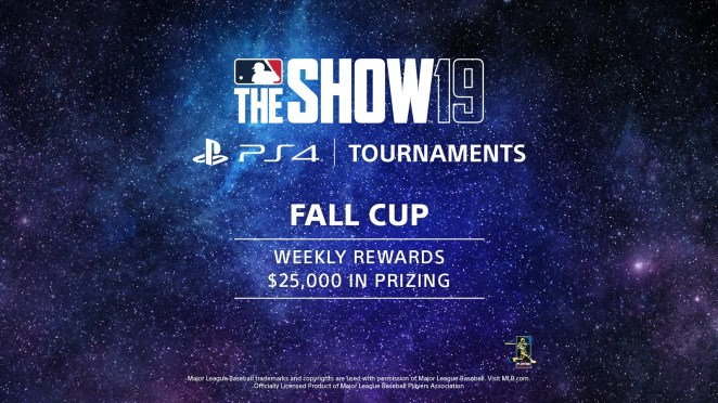 MLB The Show 19 PS4 Tournaments