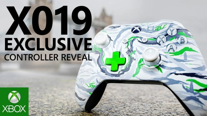 Video forXbox and DPM Studio, the Camouflage Division of maharishi, Team Up on Exclusive X019 Controller and Apparel