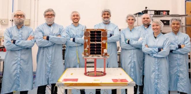 Surrey Satellites with the Raspberry Pi-touting DoT-1 satellite