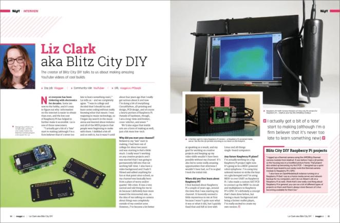 Liz Clark aka Blitz City DIY