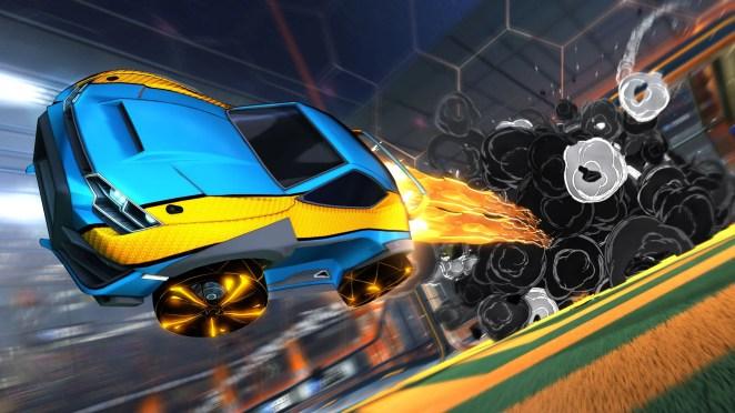 Rocket League on PS4
