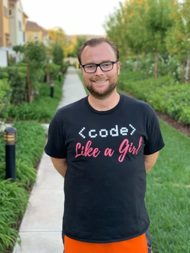 Sean Raser, California-based Code Club leader and Picademy graduate