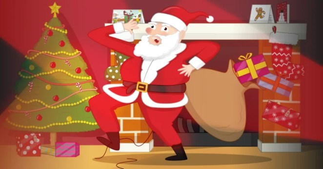 You need to be lightning fast to catch Santa delivering presents. The Santa Detector gives a helping hand