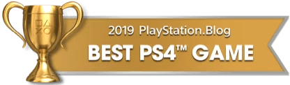 PS Blog Game of the Year 2019 - Best PS4 Game - 2 - Gold
