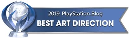 PS Blog Game of the Year 2019 - Best Art Direction - 1 - Platinum