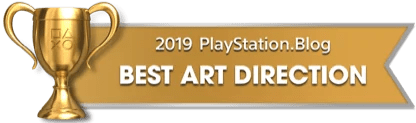 PS Blog Game of the Year 2019 - Best Art Direction - 2 - Gold
