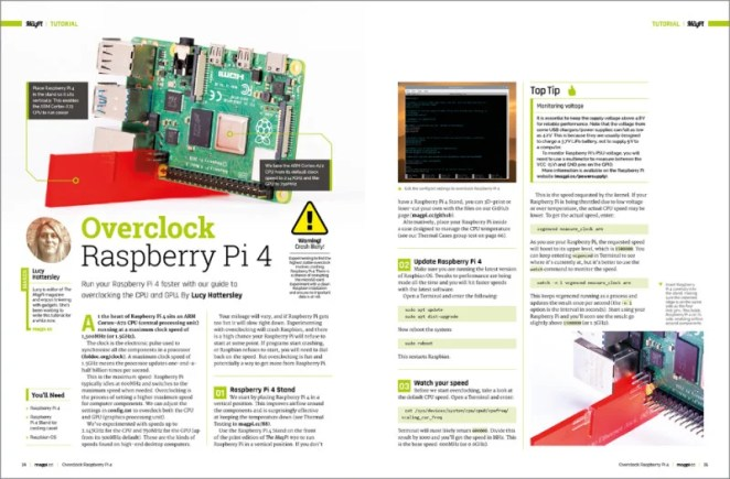 Overclock Raspberry Pi 4