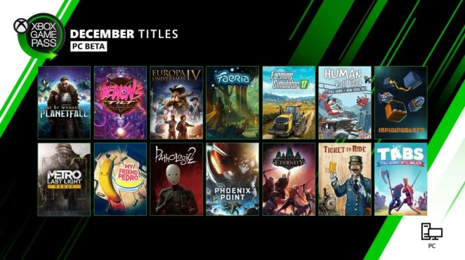 Xbox Game Pass for PC Update