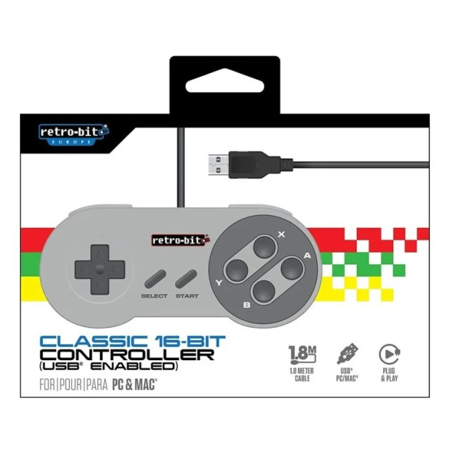 At £8, the Retro-bit USB game controller is an affordable way to use your Raspberry Pi as a gaming device