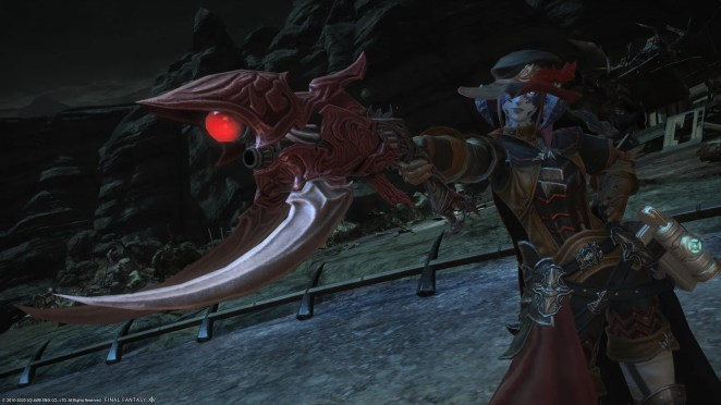 Final Fantasy XIV: Shadowbringers - Ruby Weapon gear