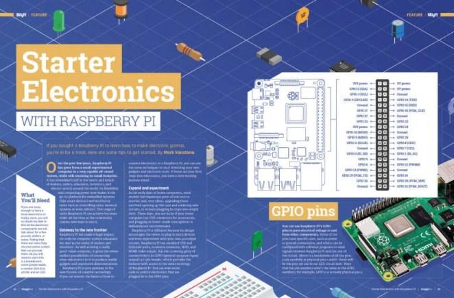 Starter Electronics with Raspberry Pi